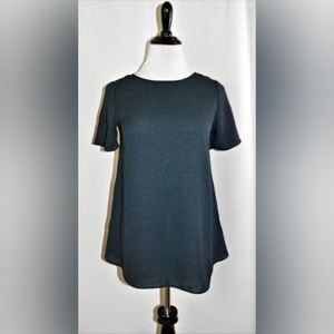 NWT The Limited Short Sleeve Tie Back Top